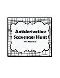 Antiderivative Scavenger Hunt