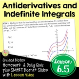 Calculus Antiderivatives and Indefinite Integration (Unit 6)