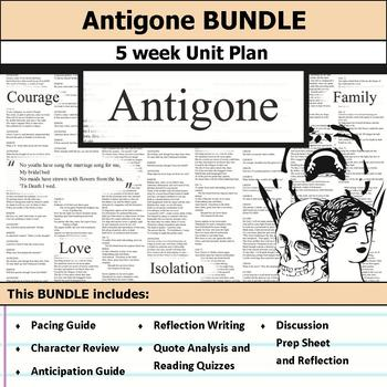 Antigone Unit Bundle
