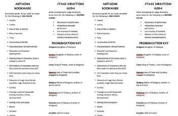 Antigone annotations