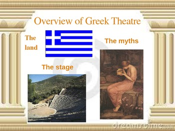 Antigone Background PowerPoint *To Accompany Notes and Study Questions