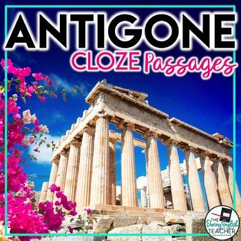 Antigone CLOZE passages