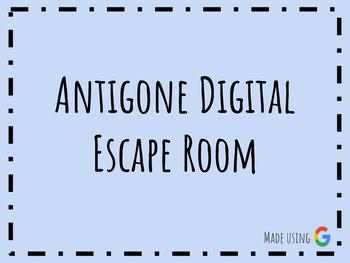 Antigone Digital Escape Room