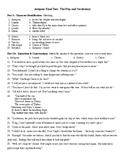 Antigone Final Test (100 q) and KEY