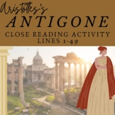Antigone Guided Lesson Lines 1-490