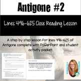 Antigone Guided Lesson Lines 496-625