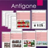 Antigone Guided Reading Questions Bundle: Prologue, Scene