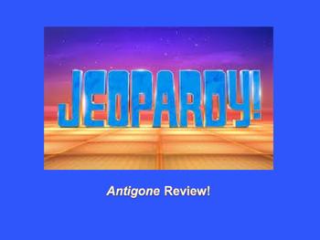 Antigone Jeopardy PreReading Review