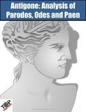 Antigone Sophocles Greek Tragedy Parodos Odes Imagery Figurative Lang. Allusion