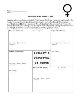 gender roles in antigone