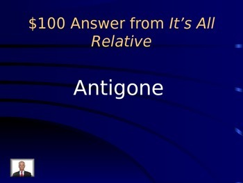 Antigone Review Jeopardy
