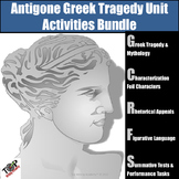 Antigone Unit Sophocles Greek Tragedy Activities Bundle