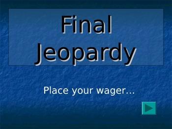 Antigone (Sophocles) Jeopardy Part 2 - Double Jeopardy