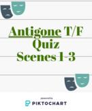 Antigone T/F Quiz- Scenes 1-3