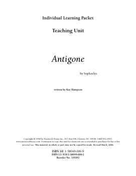 Antigone Teaching Unit