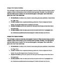 Antigone Test Creation (Student Created Test)