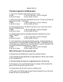 Antigone Test and Answer Key