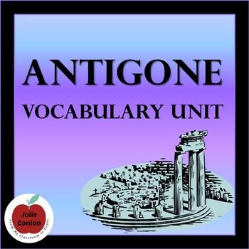 Antigone Vocabulary Unit