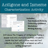Antigone and Ismene Introduction: Close Reading and Writing Activity