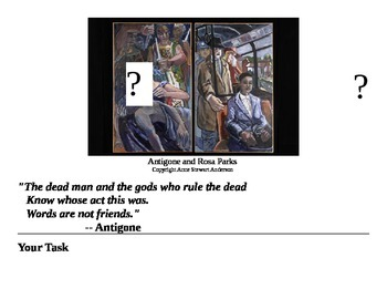 Antigone on Trial webquest