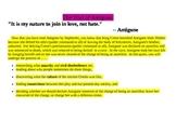 Antigone on Trial webquest
