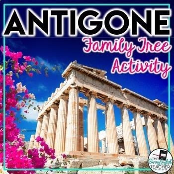 Antigone's Family Tree Pre Reading Activity