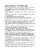 "Anton Checkov's ""The Bet"" 50 Multiple Choice Question Quiz (w/ Key)"
