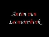 Anton van Leeuwenhoek Scientist Bag PowerPoint Example