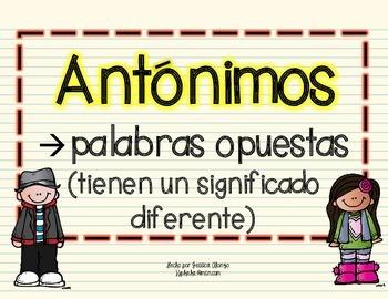 Antónimos