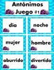Antonimos/Antonyms Spanish
