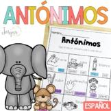 Antonimos - Antonyms in Spanish