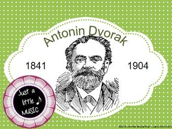 Antonin Dvorak...his life and music PPT