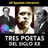 Antonio Machado, Nicolás Gullén, Pablo Neruda