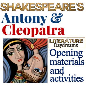 Antony & Cleopatra introduction activity