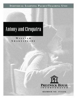 Antony and Cleopatra Teaching Unit