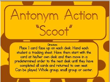 Antonym Action-Scoot