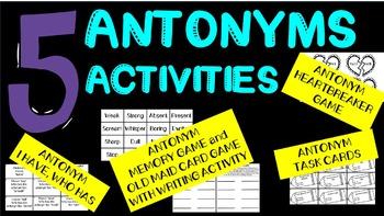 Antonym Activities