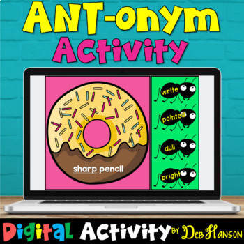 Check out this digital version of my antonym craftivity!