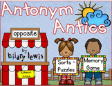 Antonyms - Games, Word Sorts, Puzzles
