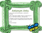 Antonym Ants Matching Game