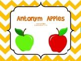 Antonym Apples: A Common Core Aligned Activity