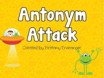 Antonym Attack PowerPoint