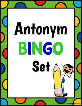 Antonym BINGO Set