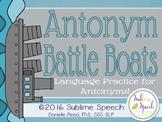 Antonym Battle Boats