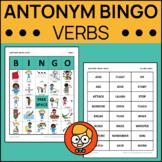 Antonym Bingo: Verbs