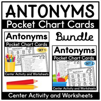 Antonym Activities Bundle