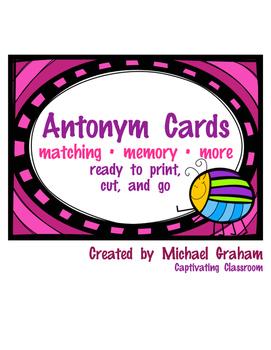 Antonym Cards