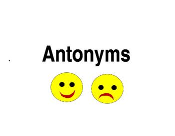 Antonym Cards for Workstation