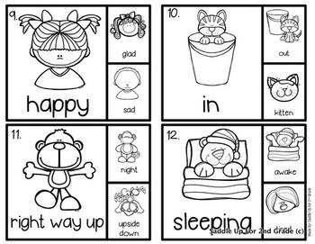 Antonym Clip Cards