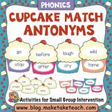 Antonym - Cupcake Themed Antonym Match